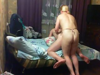 Жена И Муж Страпон Секс Видео